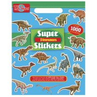 Block Sticker Dinosaurio 1000u (6303)