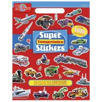 Block Sticker Transporte 1000u (6306)