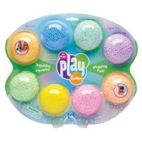 MASA PLAYFOAM DISPLAY 8 COLORES 1906