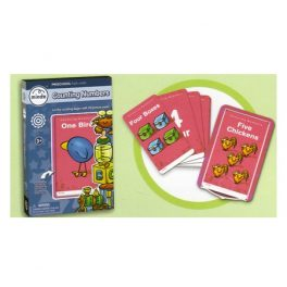 FLASH CARDS NUMEROS INGL M613 (24-96)