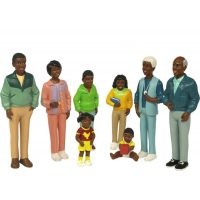 SET DE FAMILIA AFRICANA 8 FIG. 9,5 CMS. 27396 (6)