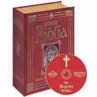La Sagrada Biblia a Color (filo dorado) + CD-ROM