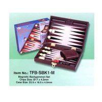 JUEGO TRAVEL BACKGAMMON MAG.TFB-SBK1-M(40)