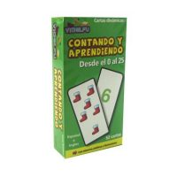 FLASH CARDS CONTANDO APREND. 0 AL 25 52 PZA.