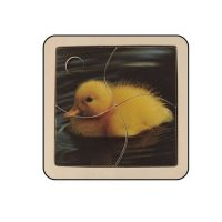 Puzzle Imagen Pato Madera