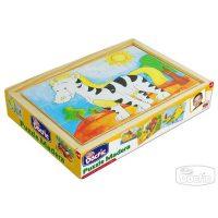 Puzzle Animales Madera (004)