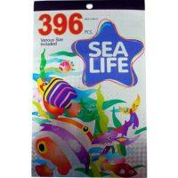 STICKERS BLOCK METAL 396 PZA. SEA LIFE (10-250)