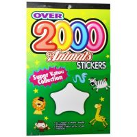 STICKERS DISPLAY 2000 ANIMALES (10-200)