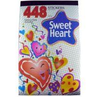 STICKERS BLOCK METAL 448PZS. SWEET HEART (10-250)
