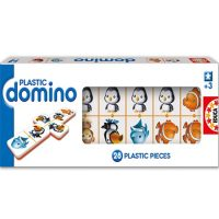 JUEGO DOMINO GRANDE ANIMALES PLASTICO 28 PCS.14339