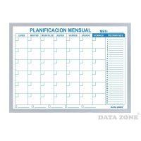 Planificador Mensual 60x45 cm borde liso