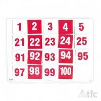 Numero 1-100 Magnetico 5x5cm (11564) TFC