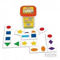 Domino Formas y Colores 28pzs (1151)