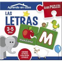 PUZZLE LETRAS Y NUM. APRENDO EN CASA CAC015 (1-12)