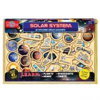 Sistema Solar Madera Magnetica 45pzs (9288)