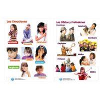 LAMINA EMOCIONES Y PROFESIONES 50X70CM