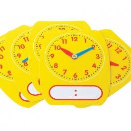 Reloj Ejercicio Plastico 5u
