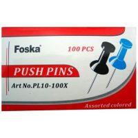 PUSH PINS 100UND. REF. PL10-100X (10-200)