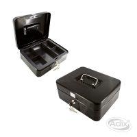 Caja Seguridad 25x18x9cm Negro (003) ADIX