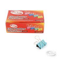 Clip Doble 19mm 12u Surtido (031) ADIX