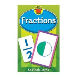 FLASH CARDS FRACCIONES 54 CARTAS 7733