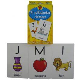 FLASH CARD EL ALFABETO 54 TARJETAS 596 (12)