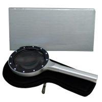 LUPA C/ LUZ LED MANGO METAL 5X55MM YT80407 (20-40)