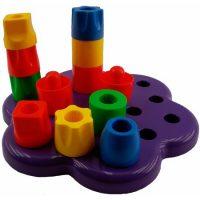 SET BASE PLASTICA 19PCS ENCAJE VERT. QL-012-3 (40