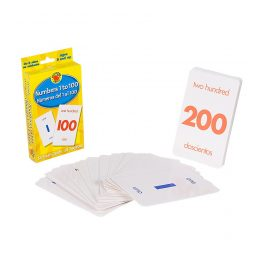 FLASH CARD NUMEROS DEL 1 AL 100 4799-5 (12)