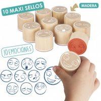 MAXI-SELLOS DE LAS 10 EMOCIONES 20546