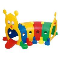 Tunel Cuncuna Multicolor Plastico