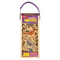 Dinosaurio Madera Magnetica 20u (9211)