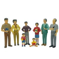 SET DE FAMILIA ASIATICA 8 FIG. 9,5 27397 (6)