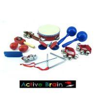 MALETA INSTRUM. MUSICAL PLAST. 10 UND. 60203(12)