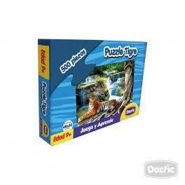 Puzzle Tigre Carton 500pzs
