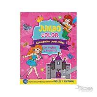 Libro Jumbo Color Ninas