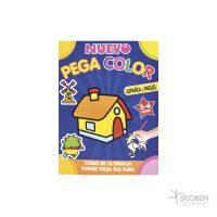 Libro Pega Color Espanol/Ingles