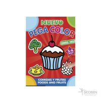 Libro Pega Color Espanol/Ingles