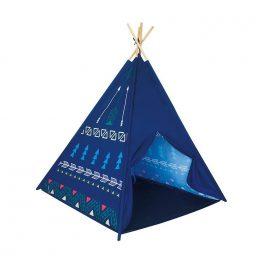 Carpa Tipi Azul 120x120x150cm