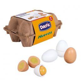 Huevo Madera 6u