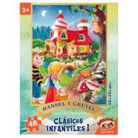 PUZZLE HANSEL Y GRETEL 48 PIEZAS