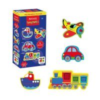 PUZZLES TRANSPORTES TOYNG