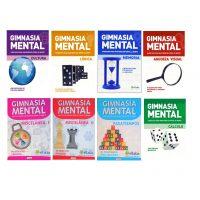 Set libros gimnasia mental - ideal cuarentena Covid 19