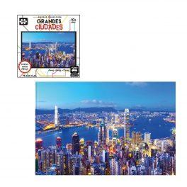 PUZZLE GRANDES CIUDADES DE 1000 PZ, HONG KONG, CHINA