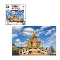 PUZZLE GRANDES CIUDADES DE 1000 PZ, MOSCU, RUSIA