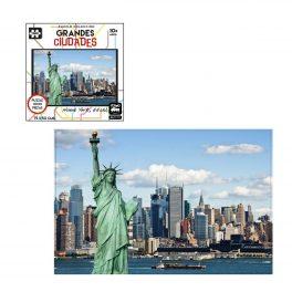 PUZZLE GRANDES CIUDADES DE 1000 PZ, NUEVA YORK, USA