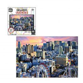PUZZLE GRANDES CIUDADES DE 1000 PZ, TOKIO, JAPÓN