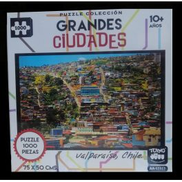 PUZZLE GRANDES CIUDADES DE 1000 PZ, VALPARAISO, CHILE