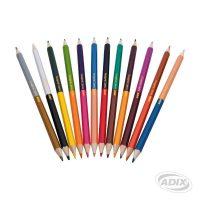 Lápiz triangular 12 colores