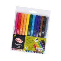 Marcador Fino 12 Colores (001) ADIX